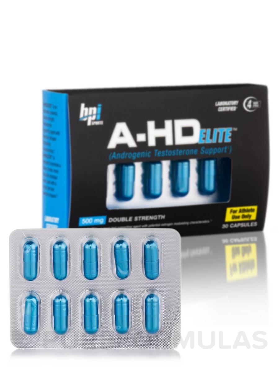 A-HD Elite 500 mg - 30 Capsules