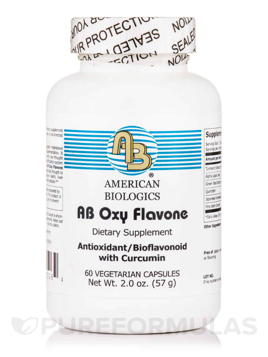 AB Oxy Flavone - 60 Vegetarian Capsules