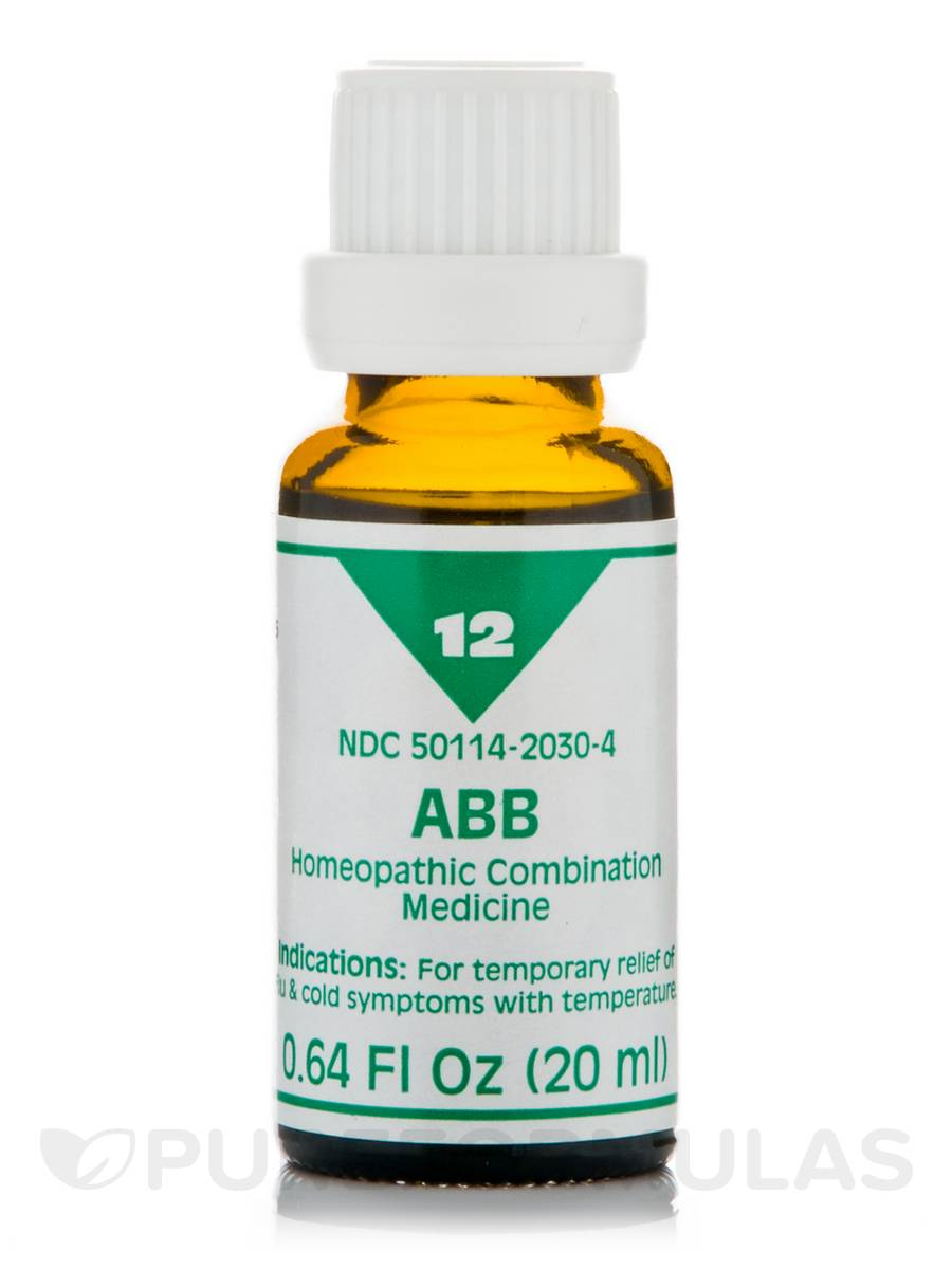 ABB Homeopathic Liquid - 0.64 fl. oz (20 ml)