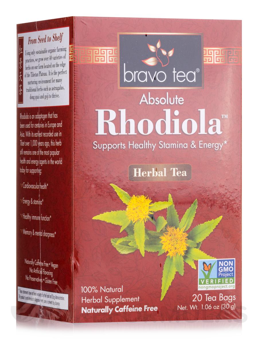 Absolute Rhodiola™ Herbal Tea - 20 Tea Bags