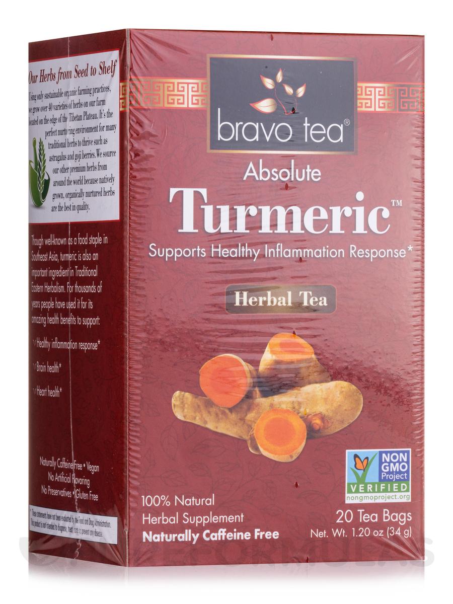 Absolute Tumeric™ Herbal Tea - 20 Tea Bags