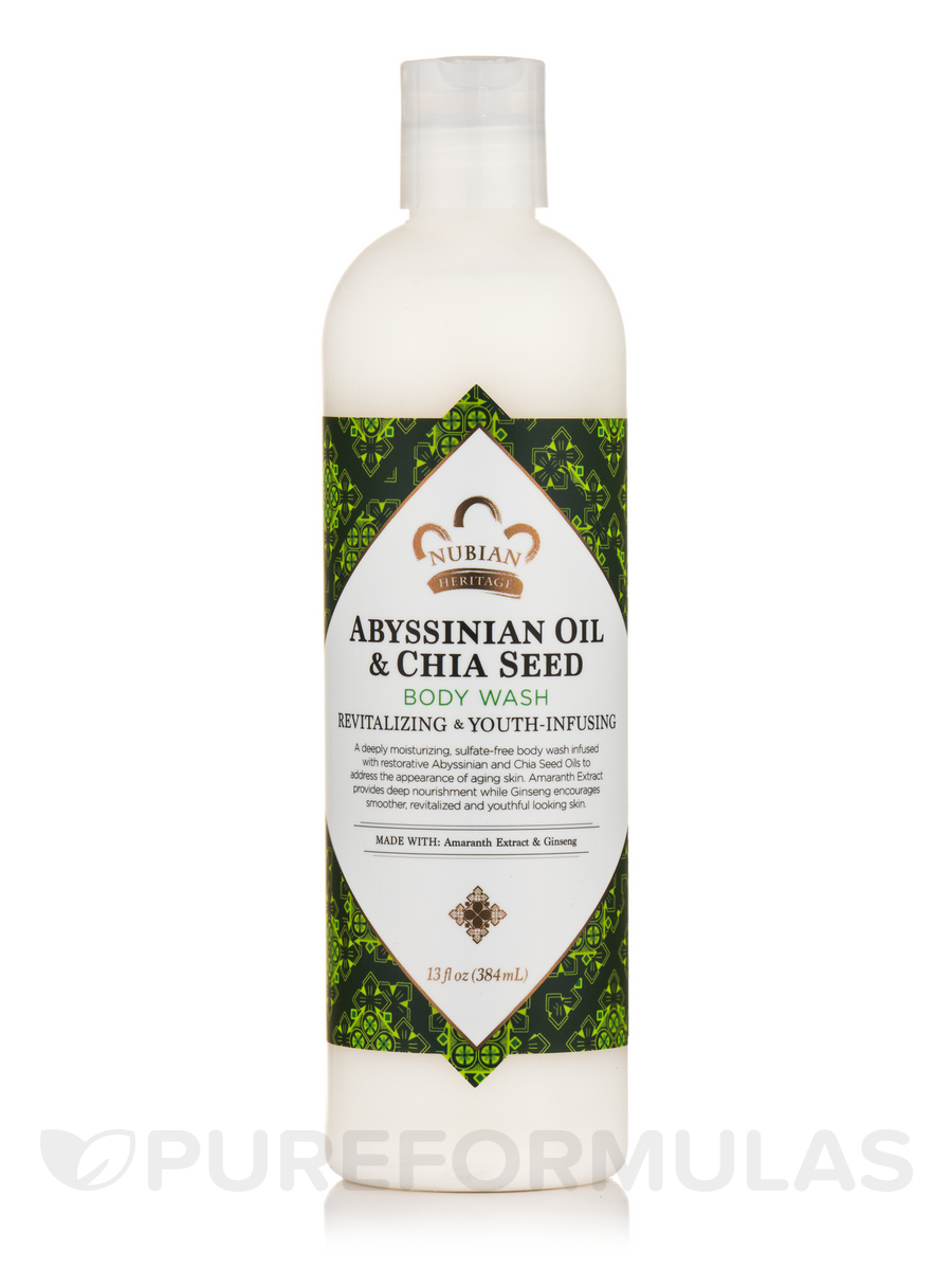Abyssinian Oil & Chia Seed Body Wash - 13 fl. oz (384 ml)