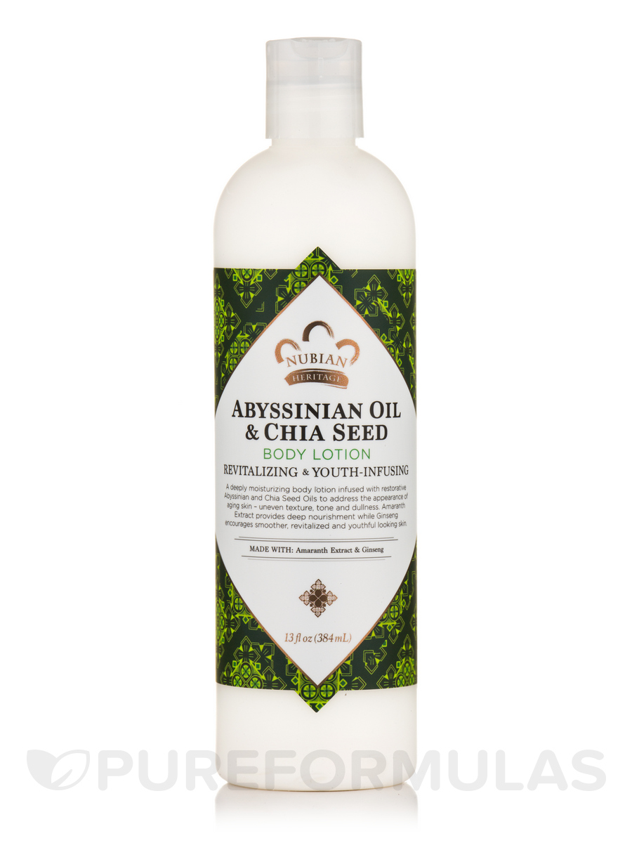 Abyssinian Oil & Chia Seed Body Lotion - 13 fl. oz (384 ml)