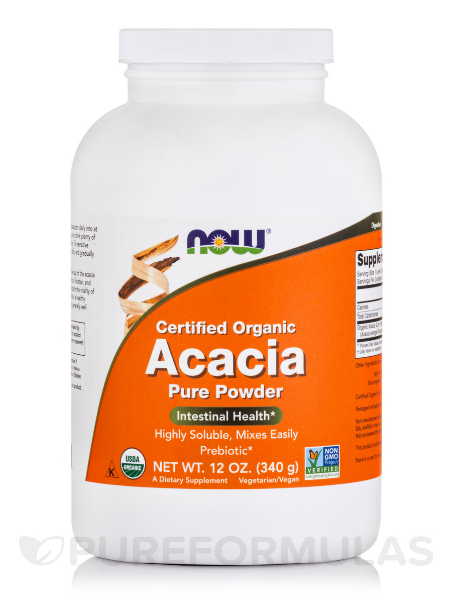 Acacia Fiber (Organic Powder) - 12 oz (340 Grams)