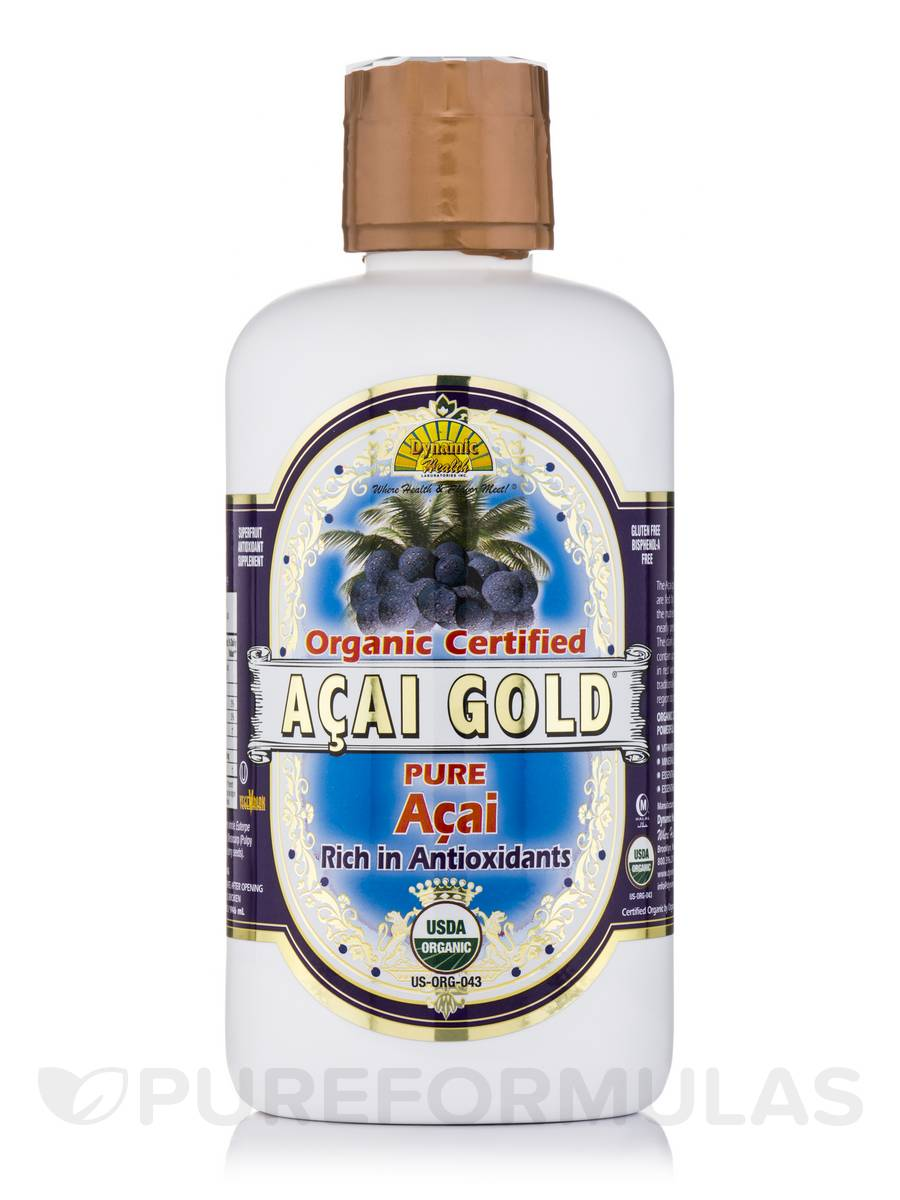 Acai Gold 100% Organic - 32 fl. oz (946 ml)
