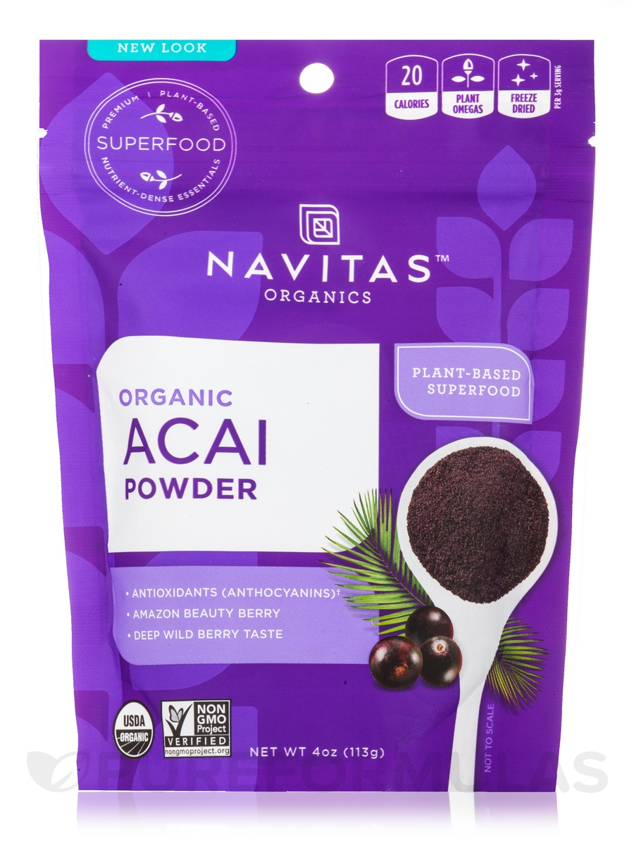 Acai Powder - 4 oz (113 Grams)