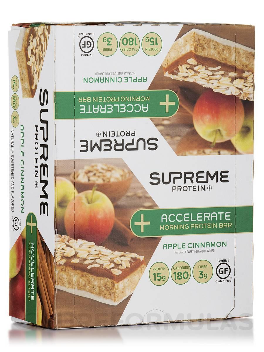 Accelerate Morning Protein Bar Apple Cinnamon - Box of 12 Bars