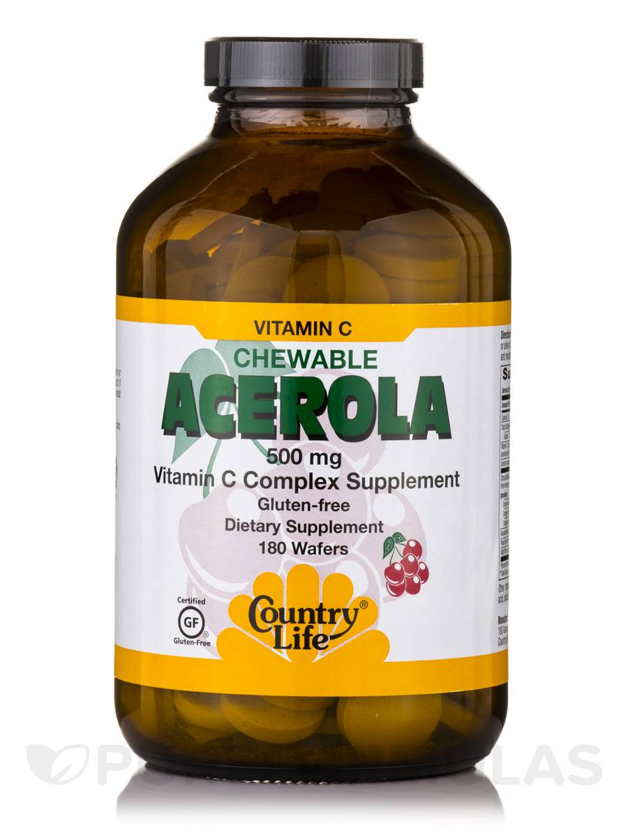 Acerola + C 500 mg - 180 Wafers