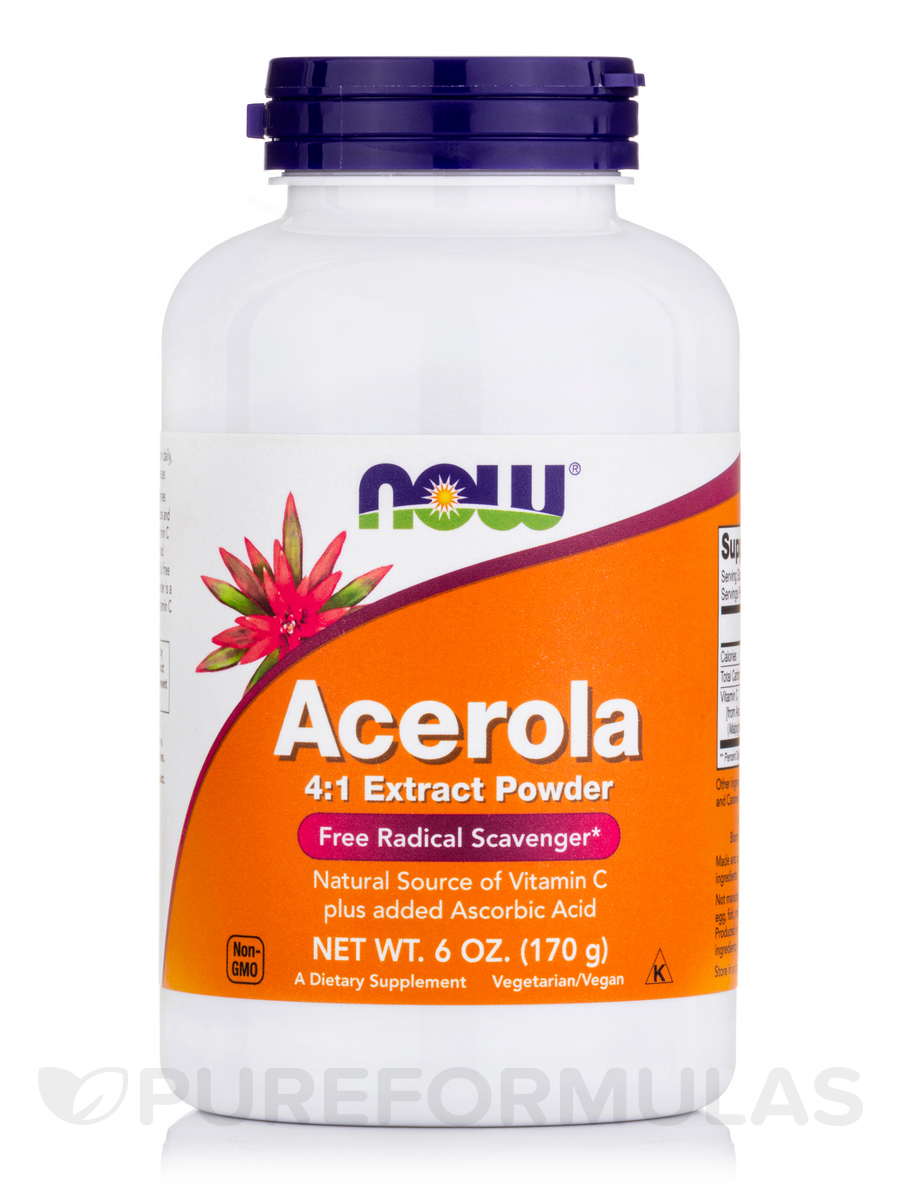 Acerola Powder 4:1 Extract Powder - 6 oz (170 Grams)