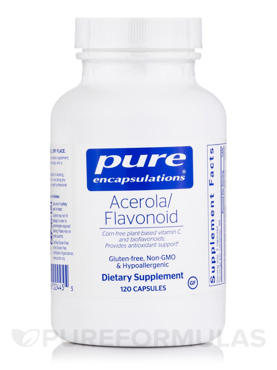 Acerola/Flavonoid - 120 Capsules