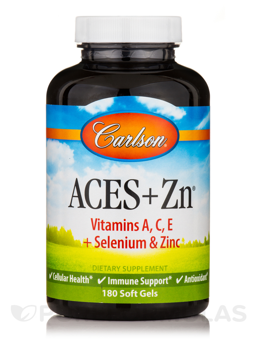 ACES + Zn - 180 Soft Gels