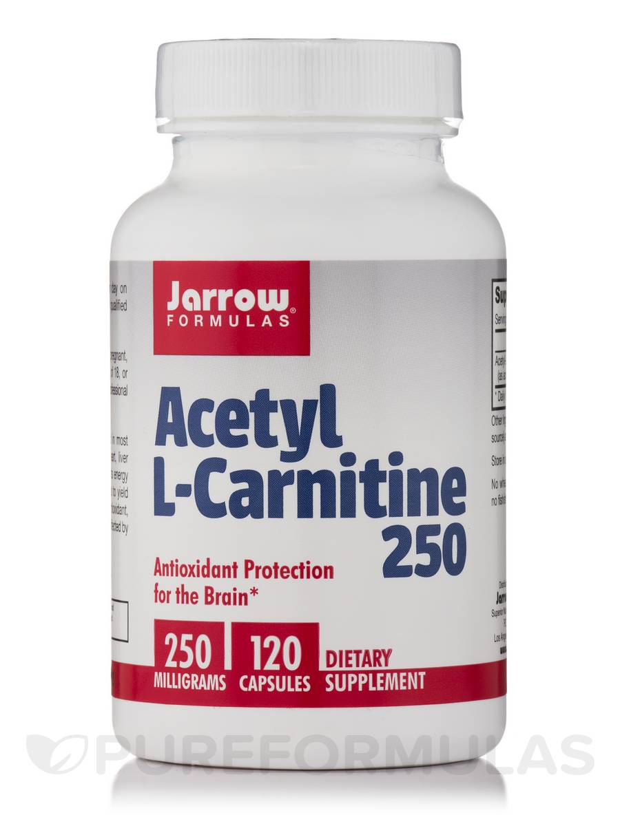 Acetyl L-Carnitine 250 mg - 120 Capsules