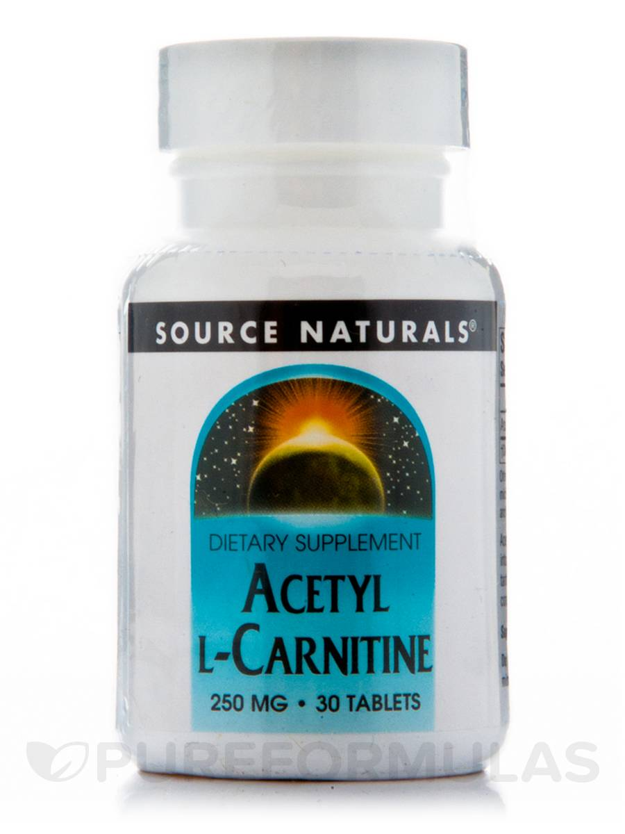 Acetyl L-Carnitine 250 mg - 30 Tablets