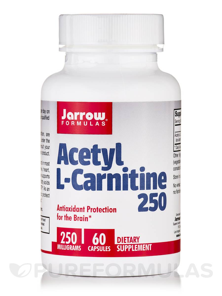 Acetyl L-Carnitine 250 mg - 60 Capsules