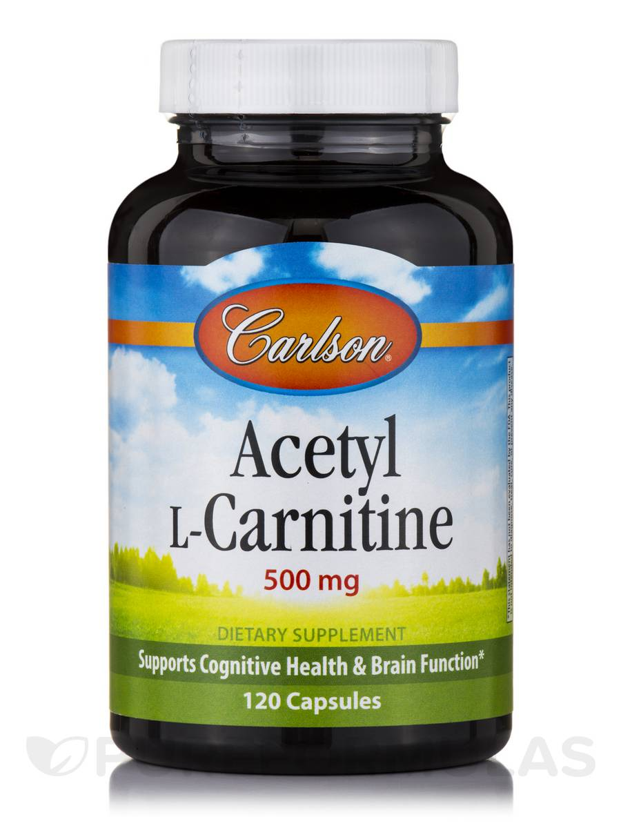 Acetyl L-Carnitine 500 mg - 120 Capsules