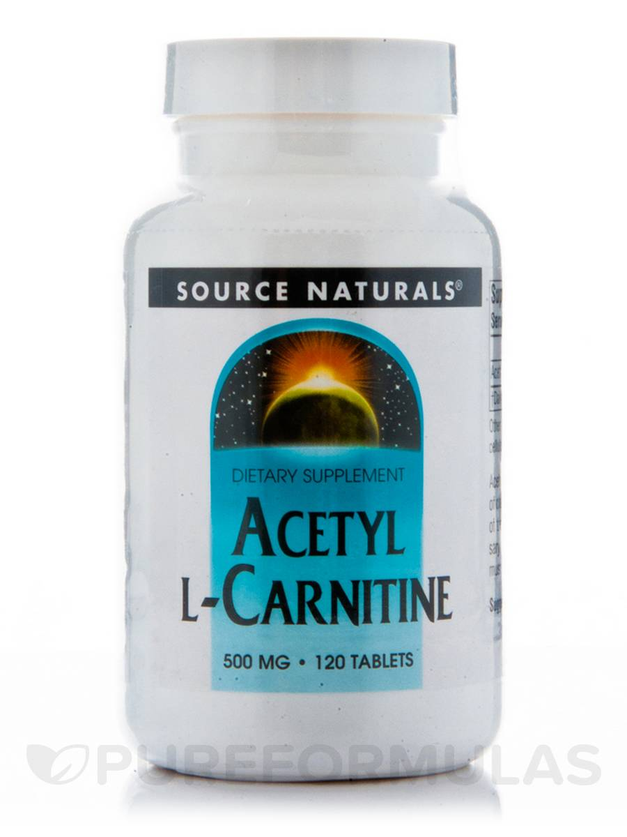 Acetyl L-Carnitine 500 mg - 120 Tablets