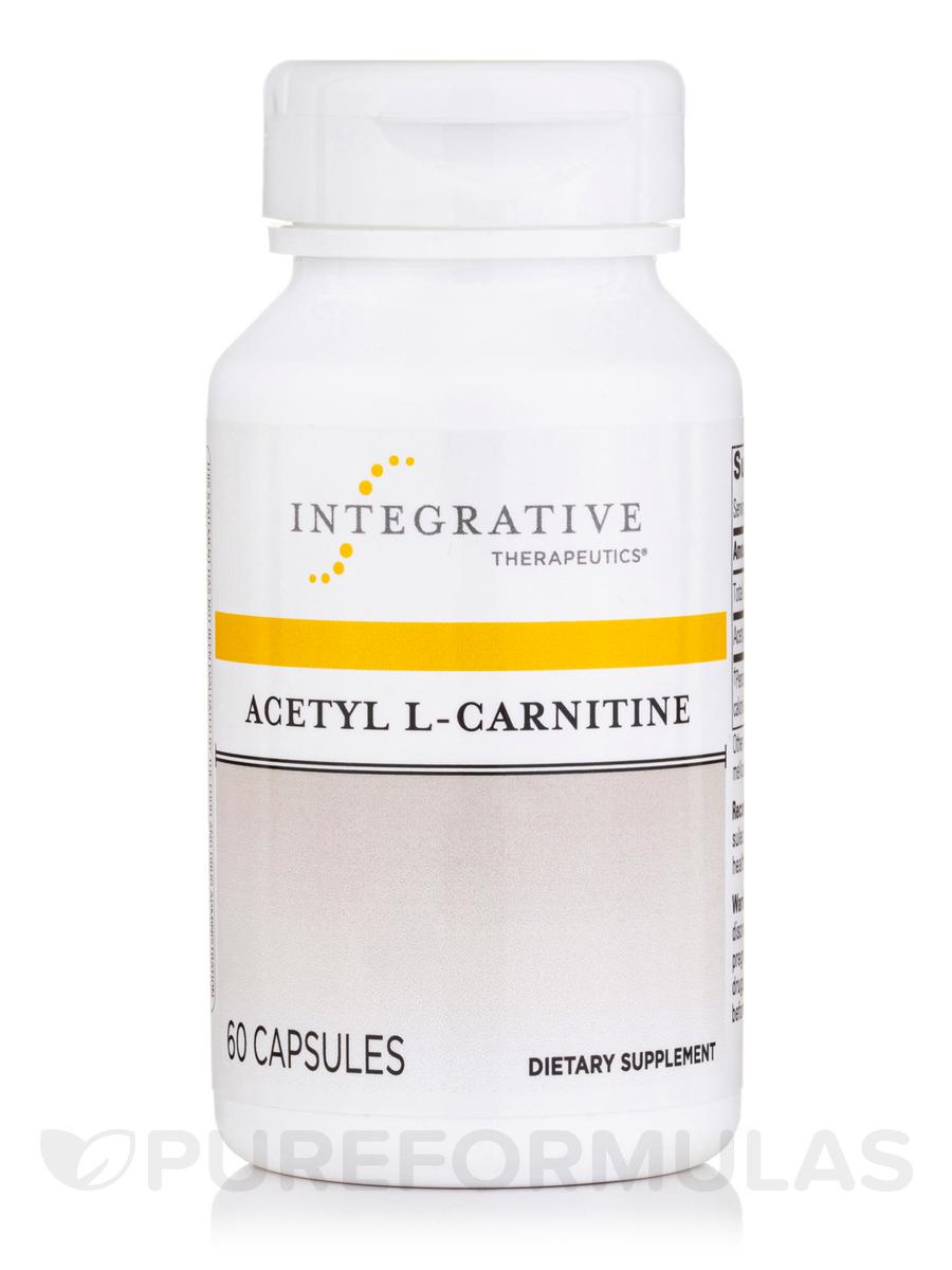 Acetyl L-Carnitine - 60 Veg Capsules