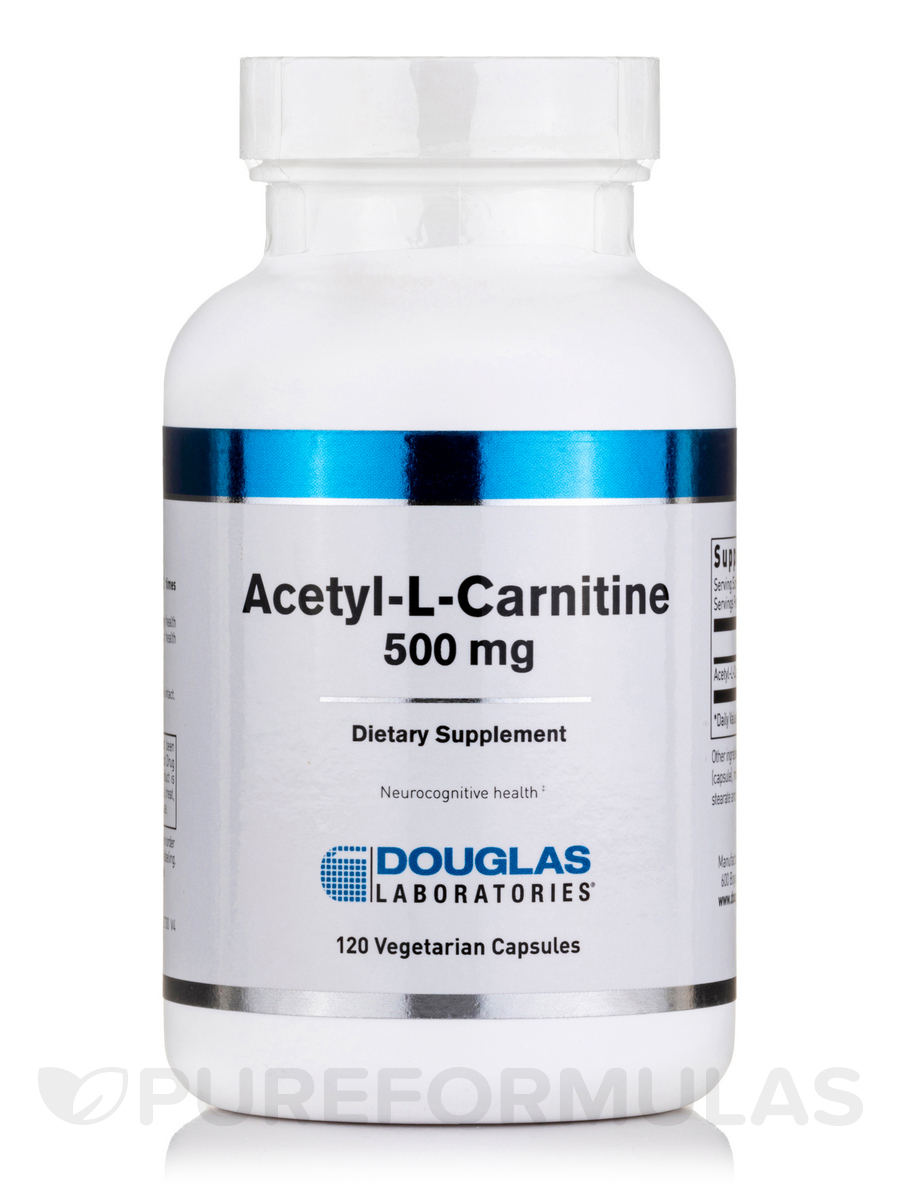Acetyl-L-Carnitine 500 mg - 120 Capsules
