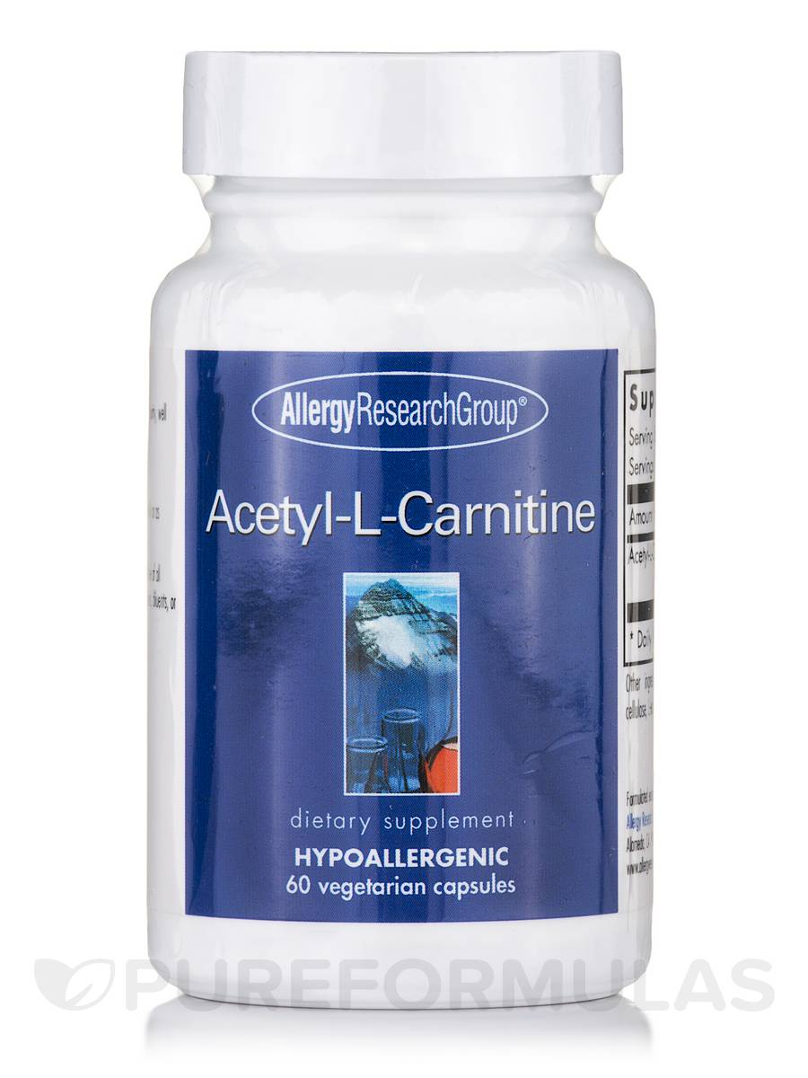 Acetyl-L-Carnitine 250 mg - 60 Vegetarian Capsules