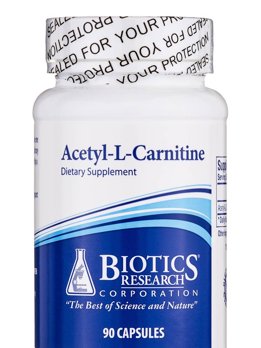 Acetyl-L-Carnitine - 90 Capsules