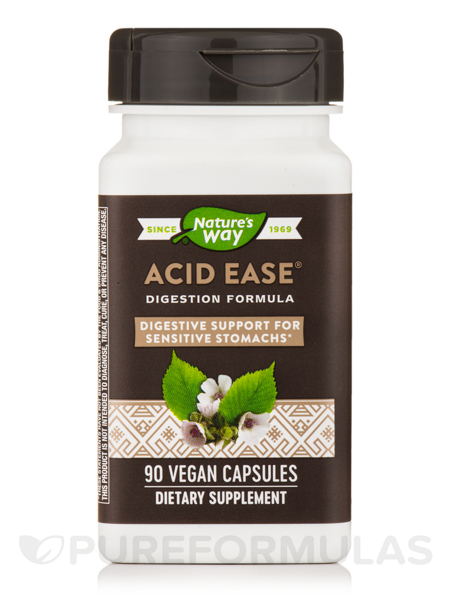 Acid-Ease® - 90 Vegan Capsules