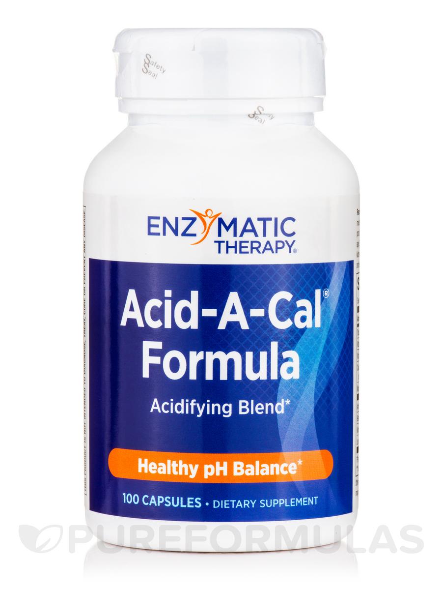 Acid-A-Cal® Formula - 100 Capsules