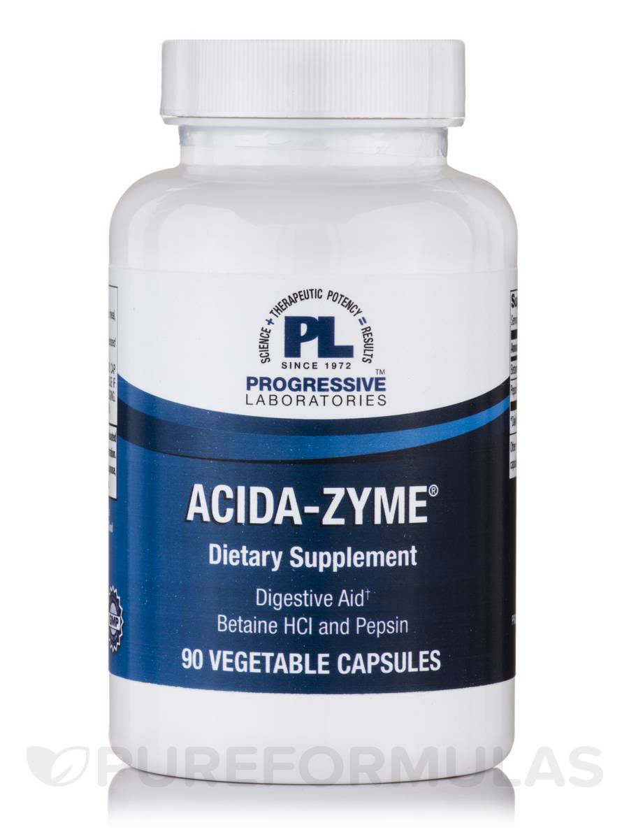 Acida-Zyme® - 90 Vegetable Capsules