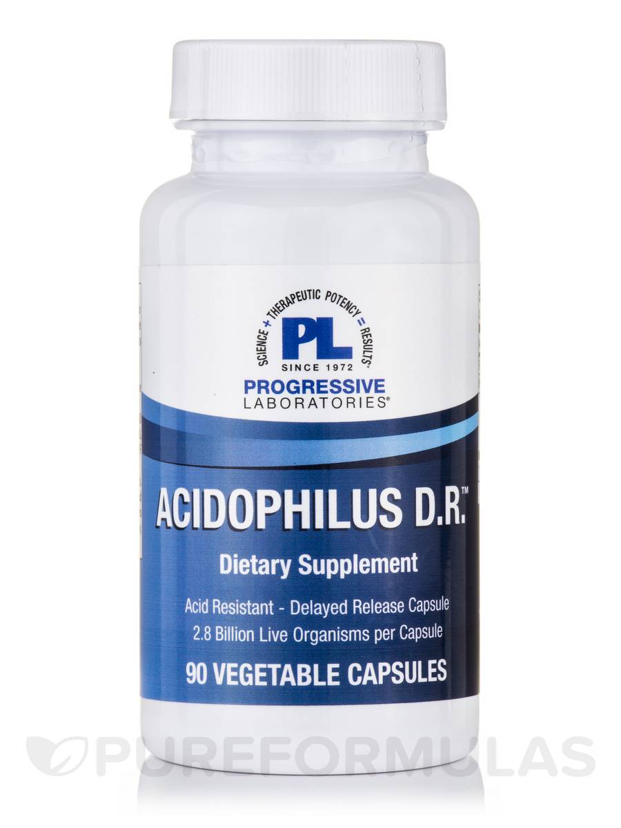 Acidophilus D.R.™ - 90 Vegetable Capsules