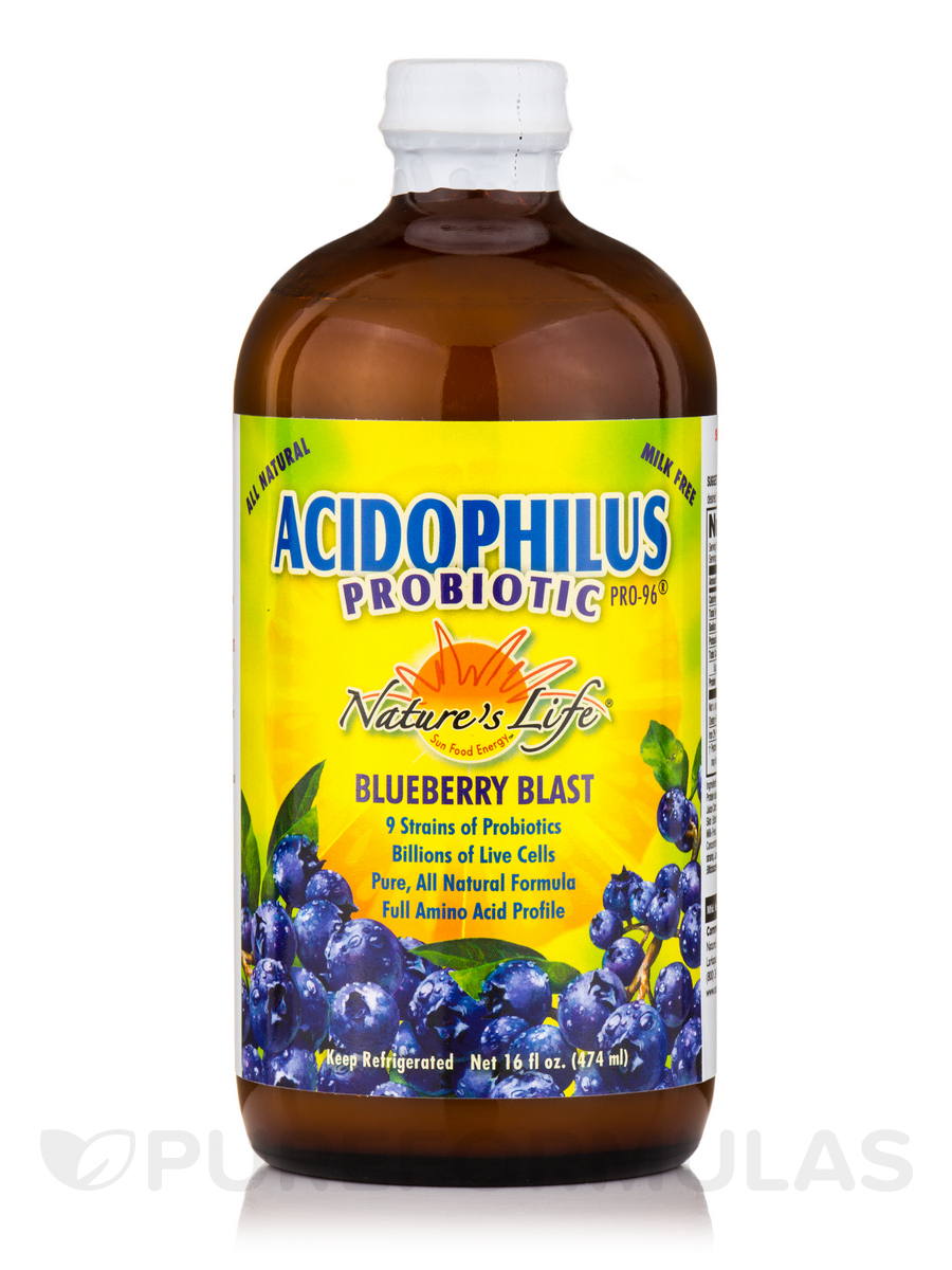 Acidophilus Probiotic Pro-96®, Blueberry Blast - 16 fl. oz (474 ml)