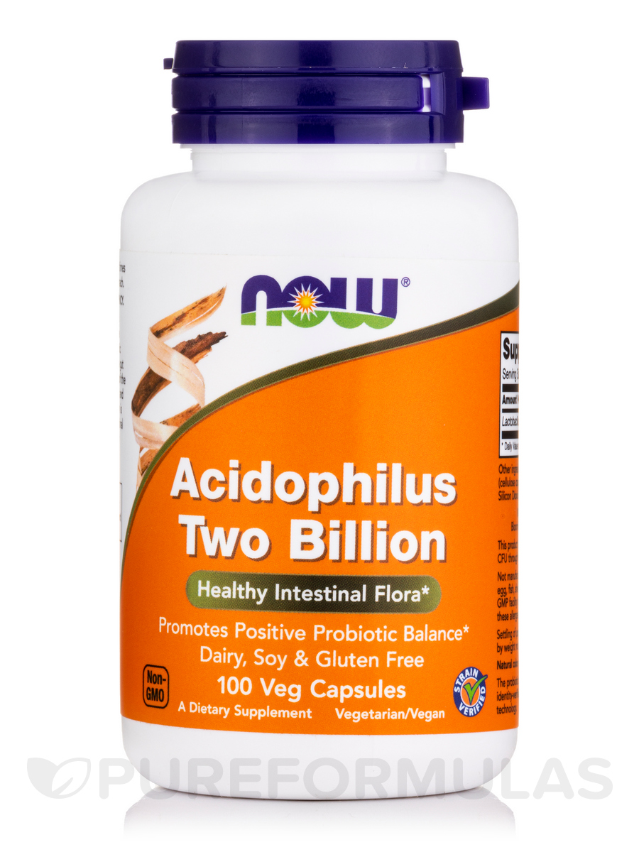 Acidophilus Two Billion - 100 Capsules