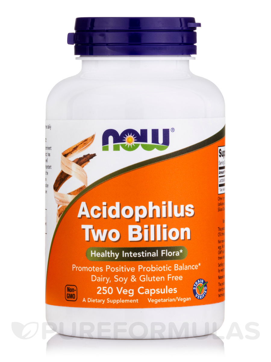 Acidophilus Two Billion - 250 Capsules