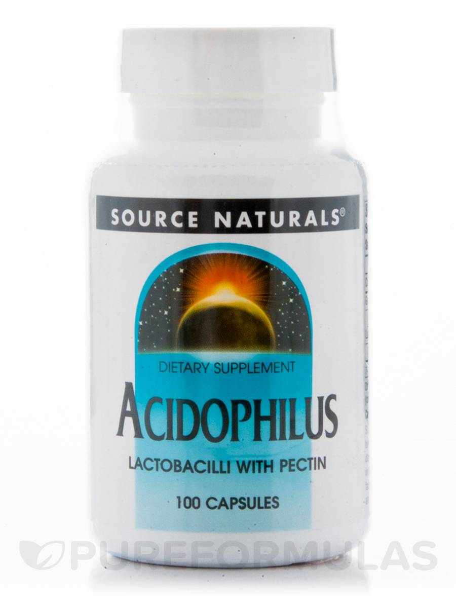 Acidophilus with Pectin - 100 Capsules