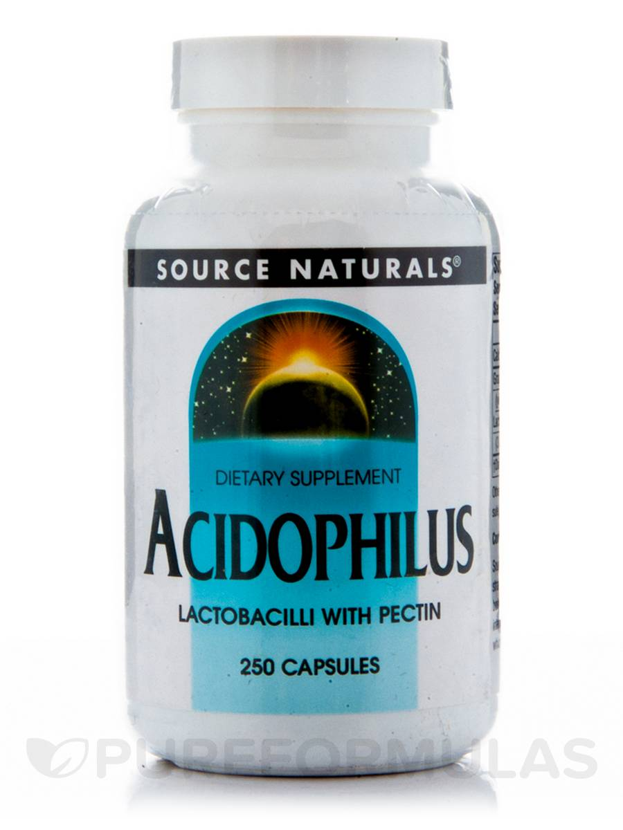 Acidophilus with Pectin - 250 Capsules