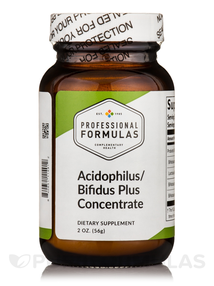 Acidophilus/Bifidus Plus Concentrate - 2 oz (56 Grams)