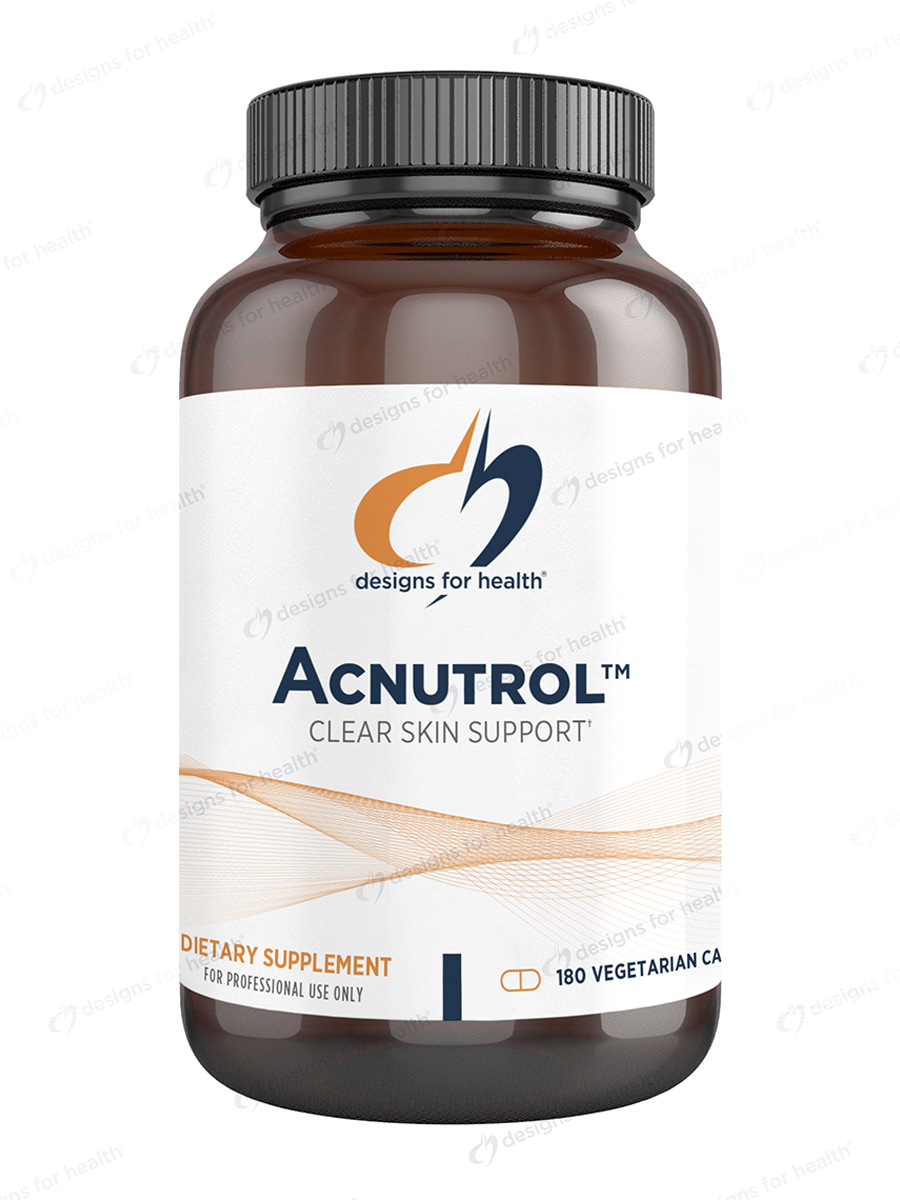 Acnutrol™ Natural Acne Support - 180 Vegetarian Capsules