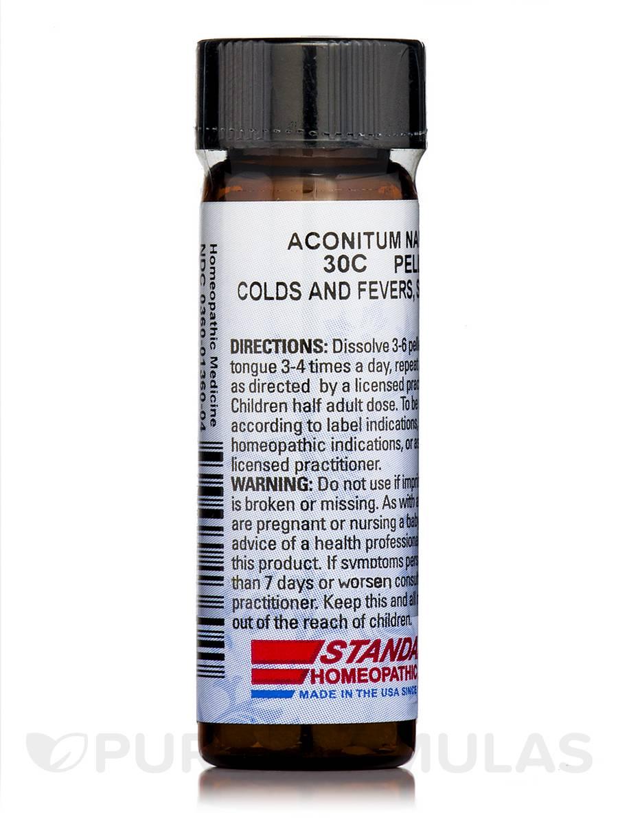 Aconitum Napellus 30C - 0.25 oz (160 Pellets)