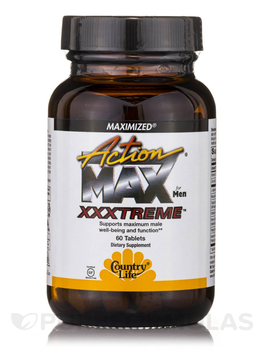 Action Max Xxxtreme™ for Men - 60 Tablets