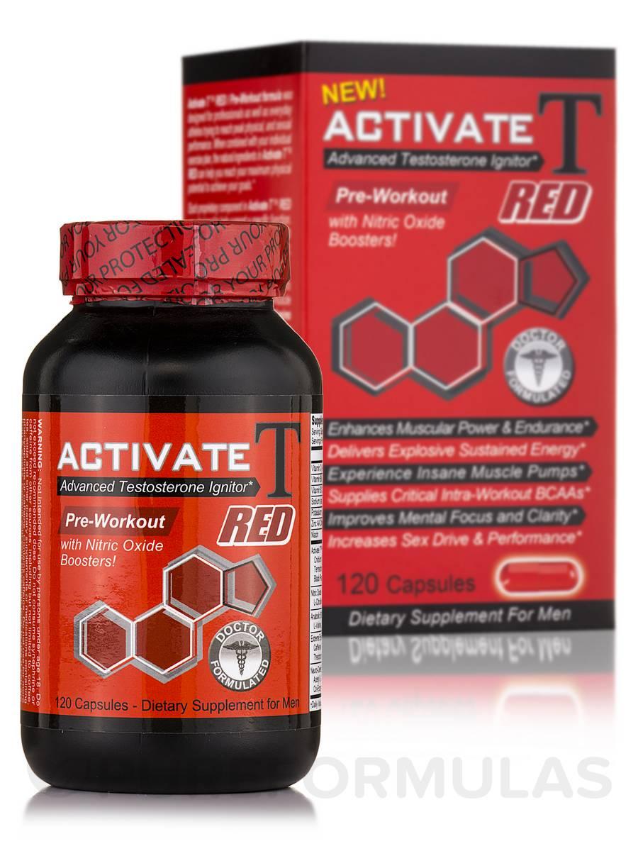 Activate T Red - 120 Capsules
