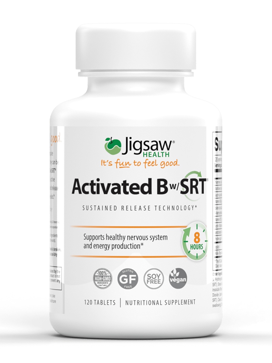 Activated B with SRT® - 120 Tablets