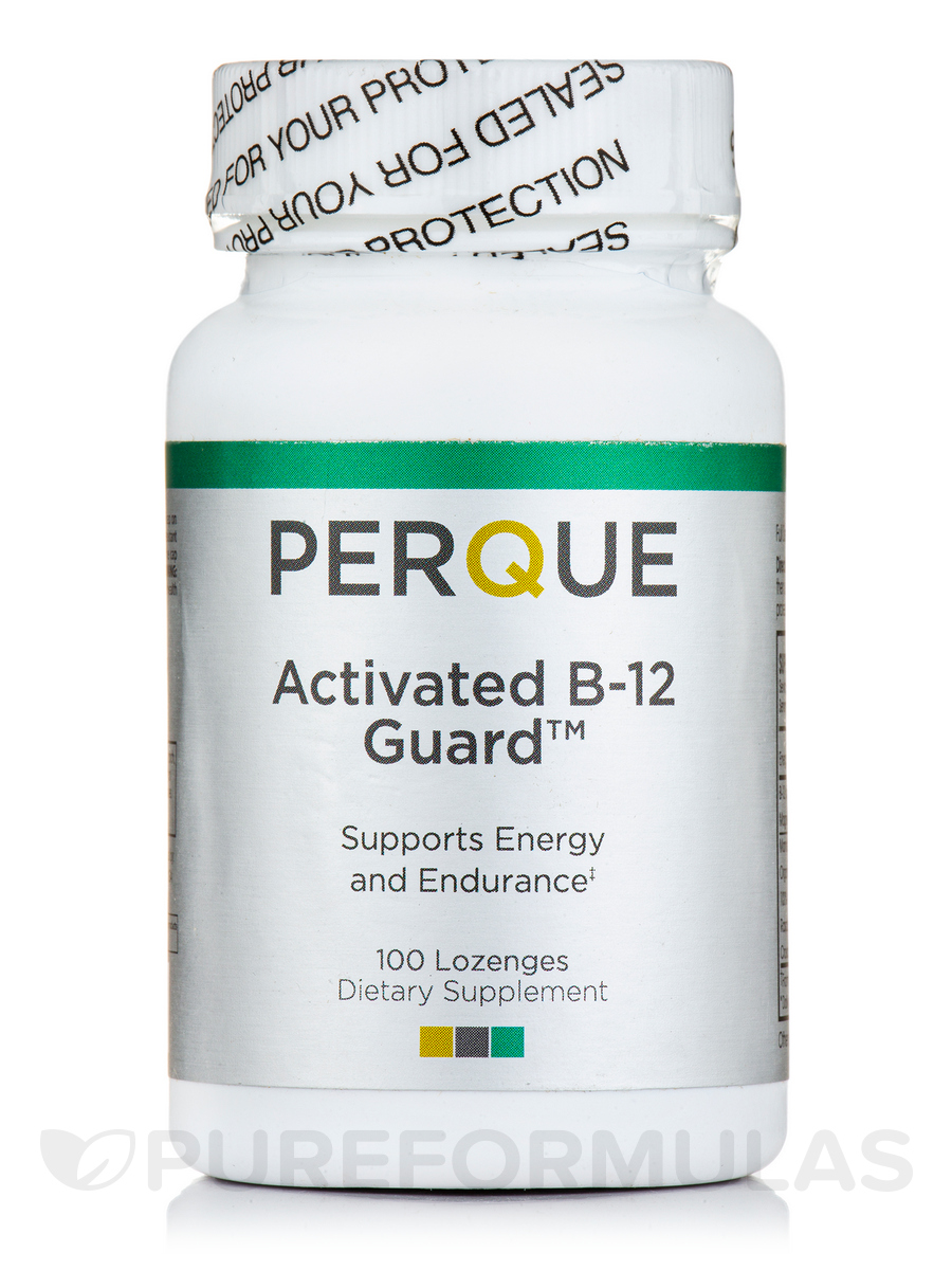 Activated B-12 Guard™ 2,000 mcg Sublingual - 100 Lozenges
