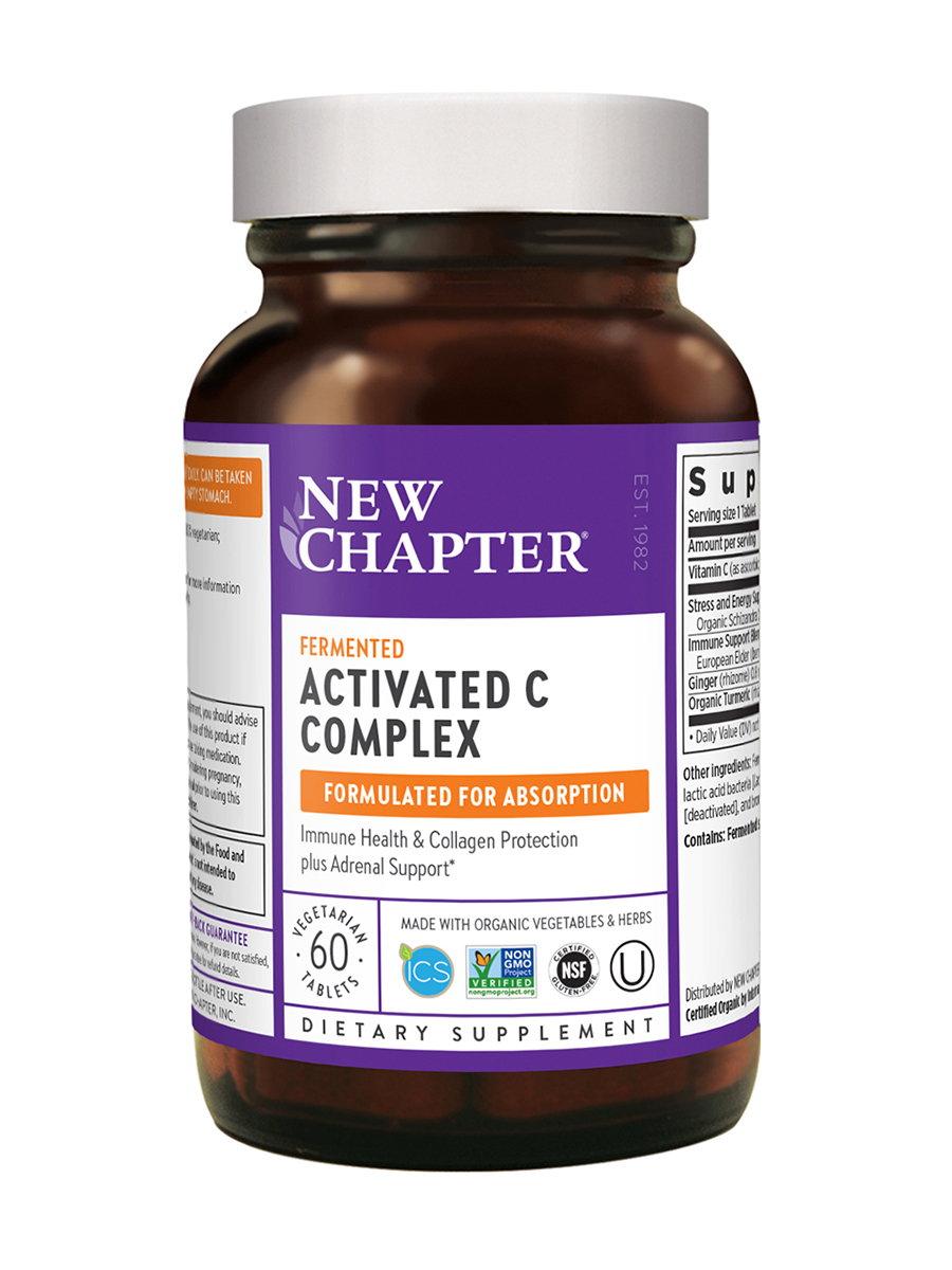 Activated C Food Complex - 60 Tablets