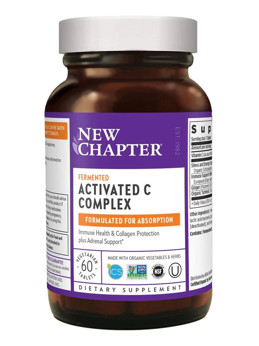 Activated C Food Complex - 90 Tablets