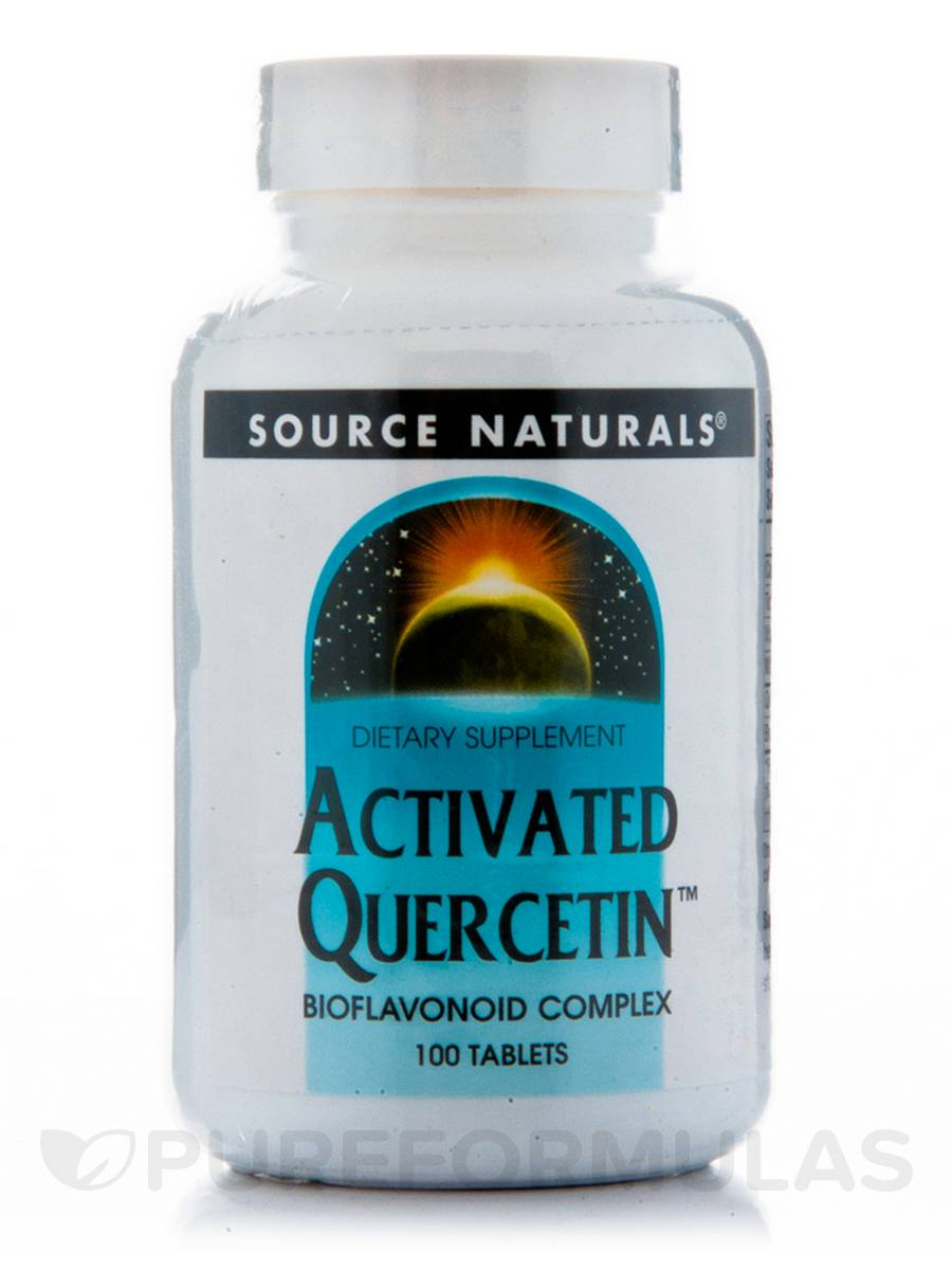 Activated Quercetin - 100 Tablets