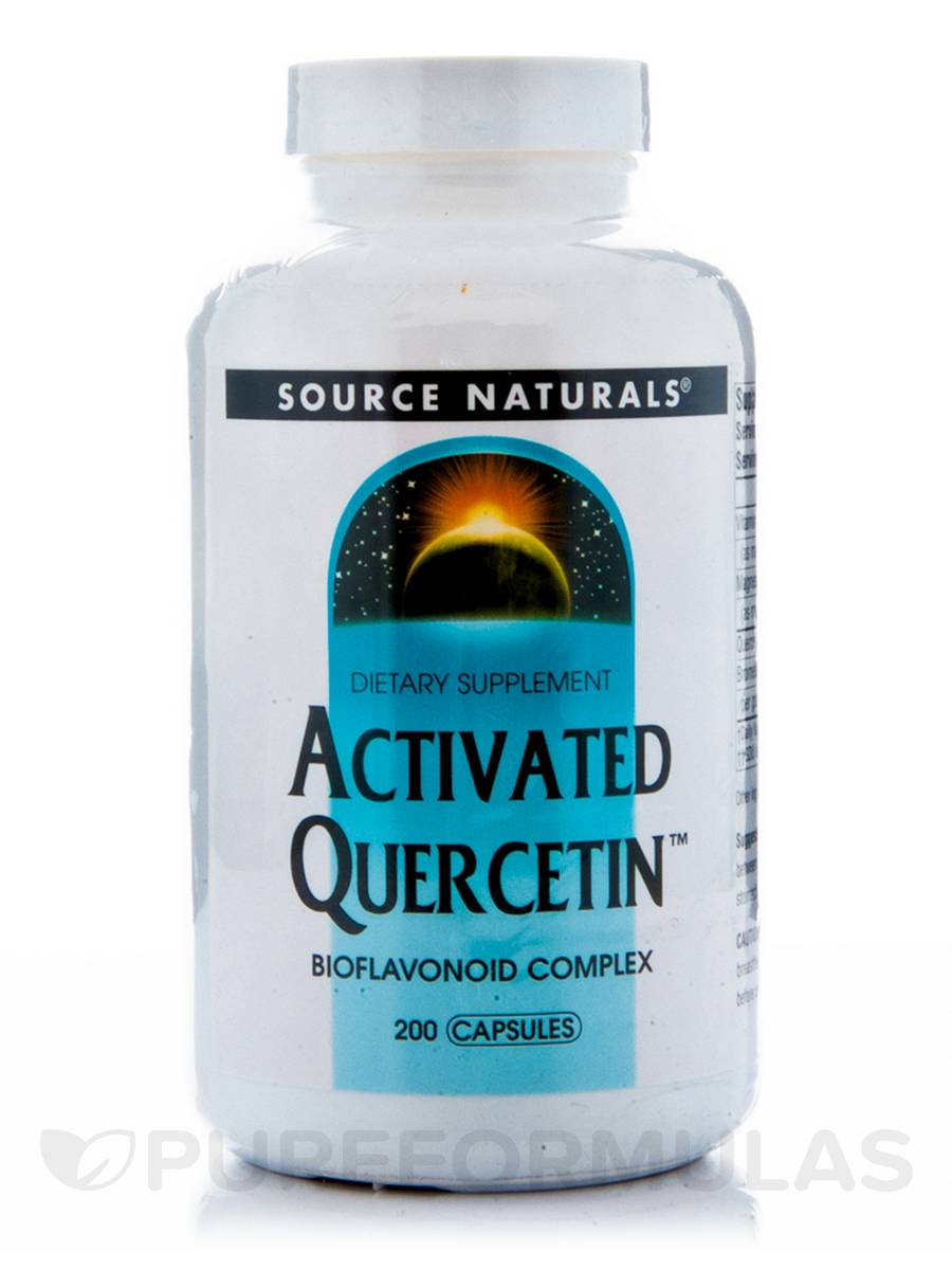 Activated Quercetin - 200 Capsules