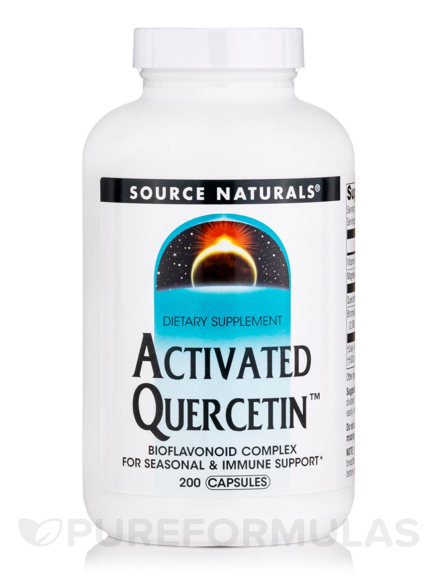 Activated Quercetin - 200 Capsules