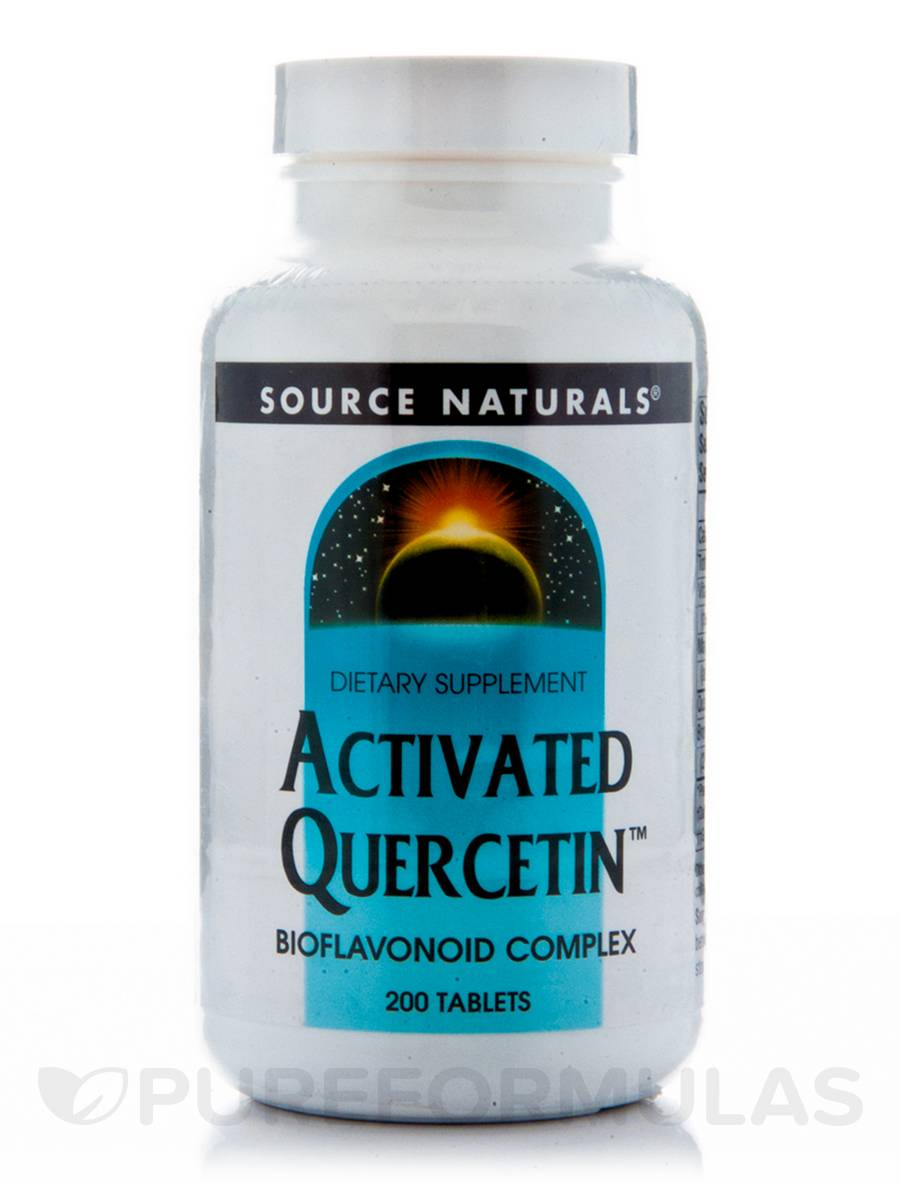 Activated Quercetin - 200 Tablets