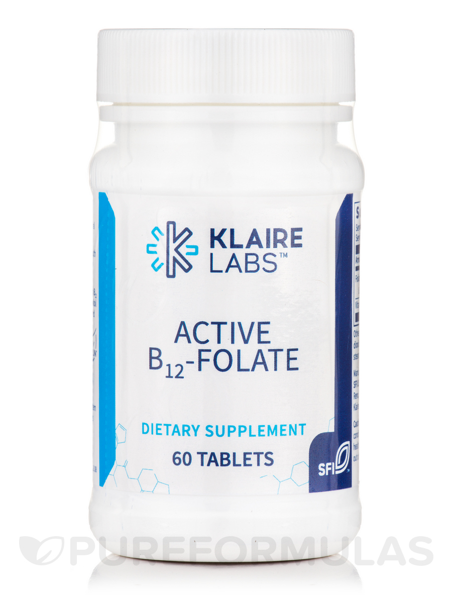 Active B12-Folate - 60 Tablets