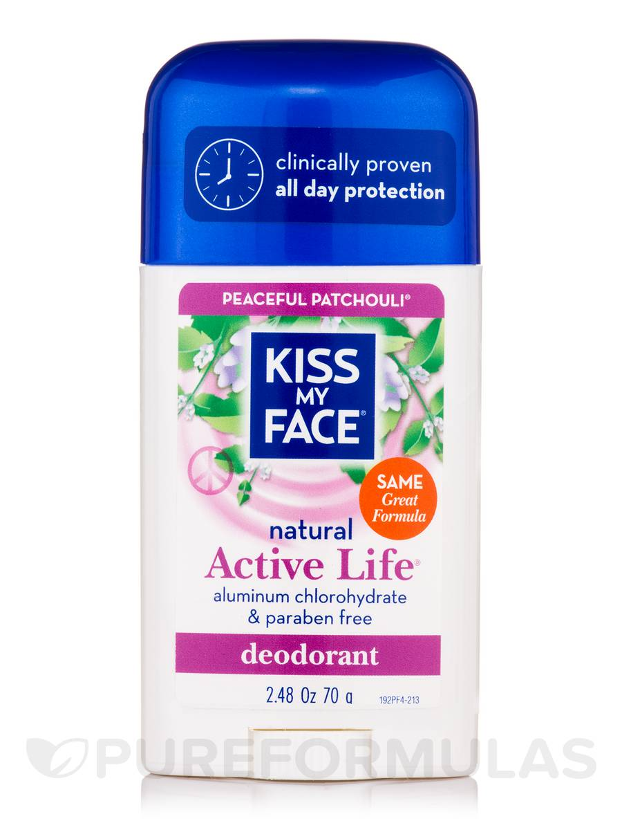 Active Life Patchouli Deodorant Stick - 2.48 oz (70 Grams)