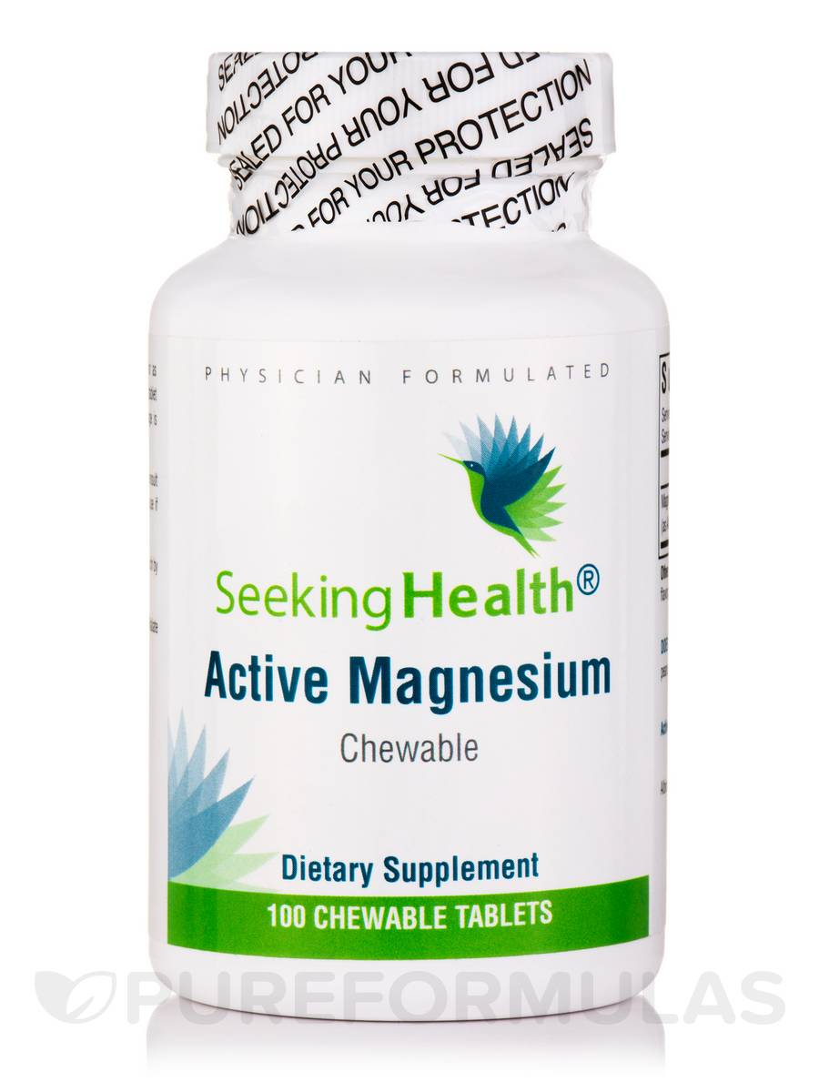 Active Magnesium - 100 Chewable Tablets