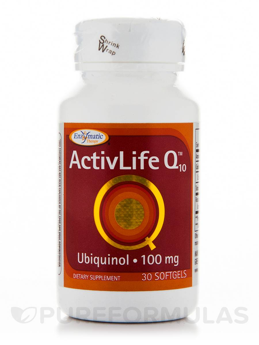 ActivLife Q10 Ubiquinol 100 mg - 30 Softgels